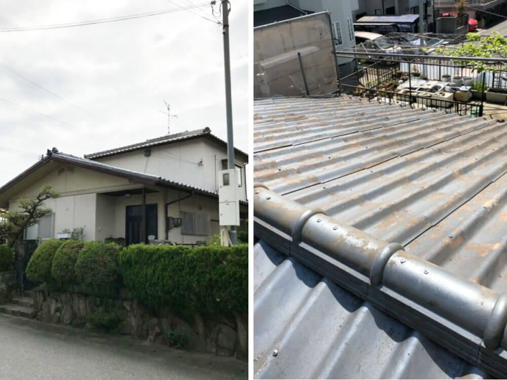 加古川市K様外壁塗装・屋根塗装工事 施工前