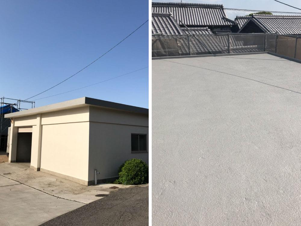 神戸市西区H様外壁塗装・防水工事 施工後