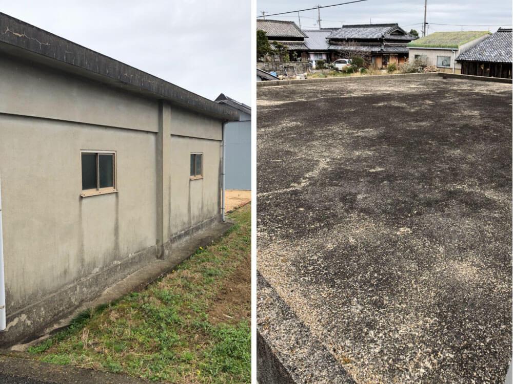 神戸市西区H様外壁塗装・防水工事 施工前