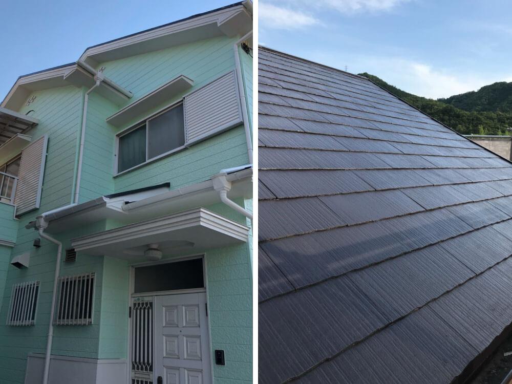 明石市S様邸外壁・屋根塗装 施工後