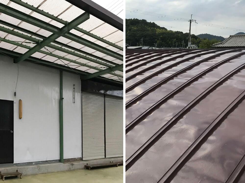 加古川市K工場様屋根・外壁塗装工事 施工後