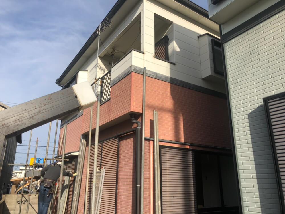 加古川市設備事業者様邸外壁・屋根塗装工事 施工前