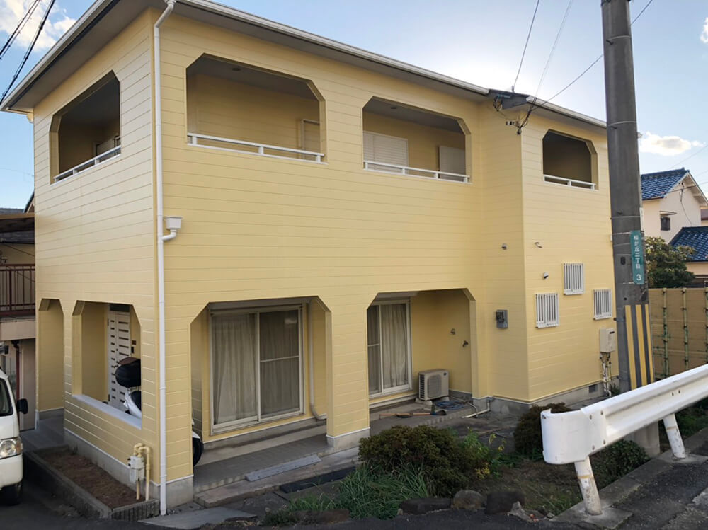 大阪府K様邸外壁塗装工事 施工後