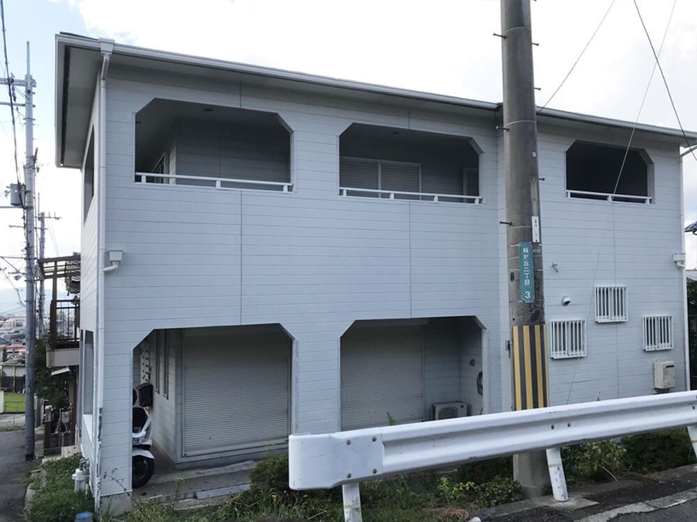 大阪府K様邸外壁塗装工事 施工前