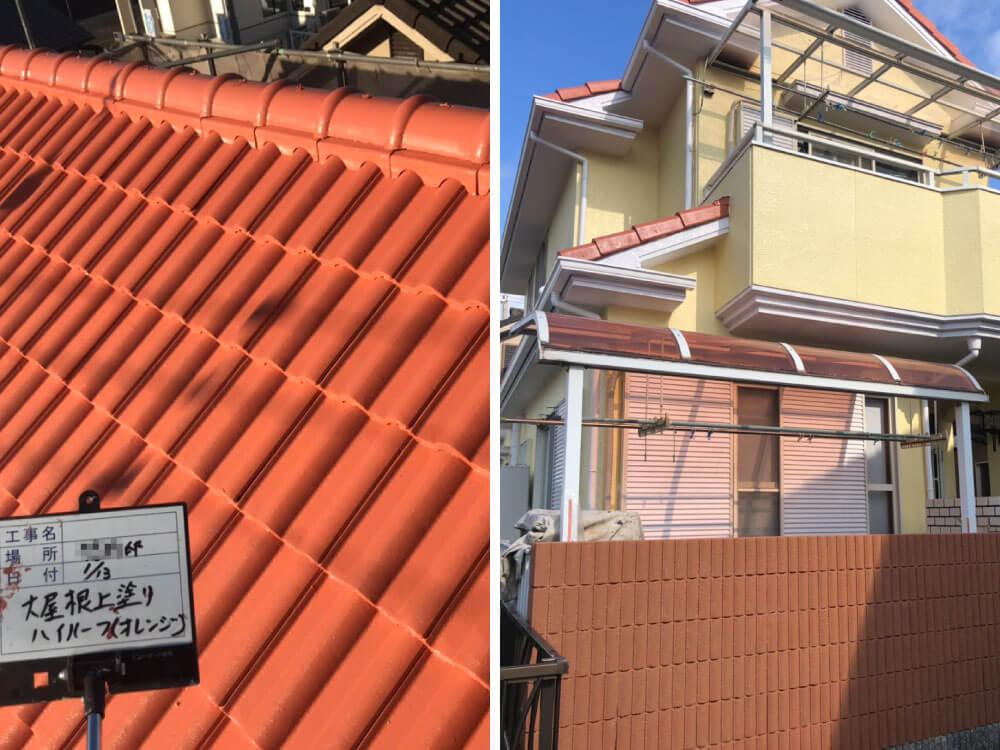 加古川市T様邸外壁・屋根塗装工事 施工後