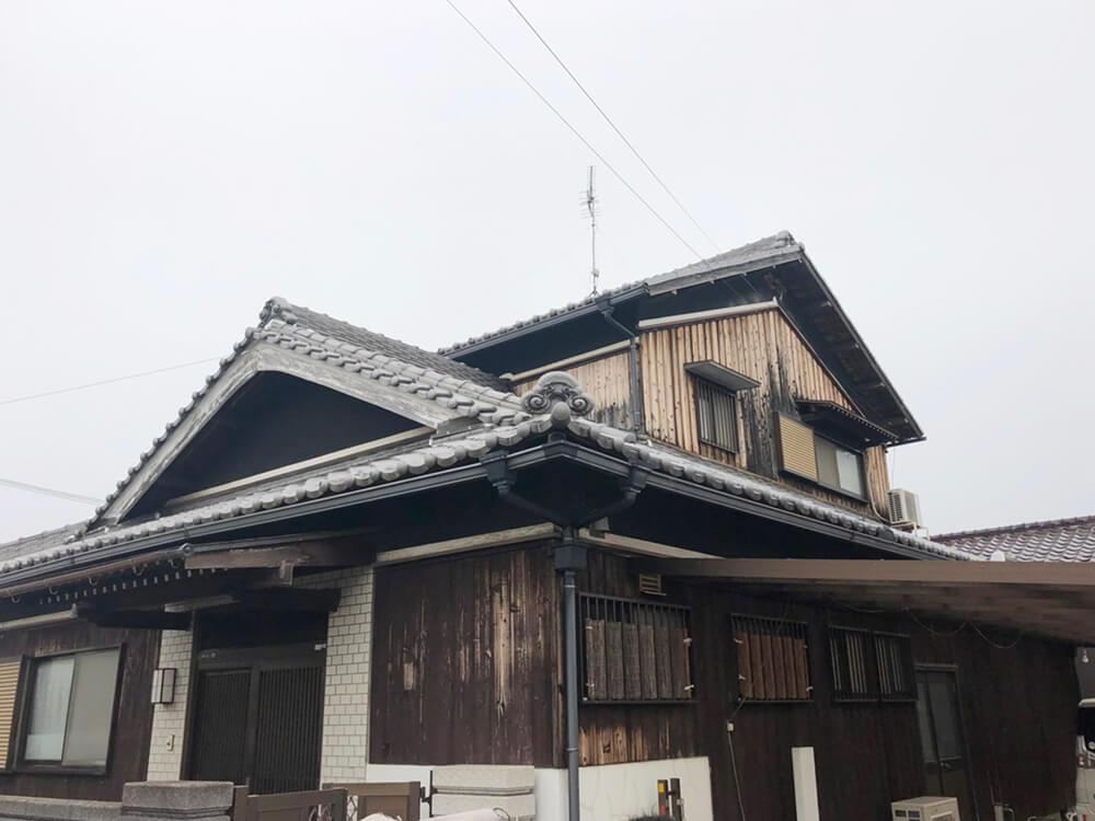 加古川市K様邸外壁塗装・焼板貼り替え工事 施工前