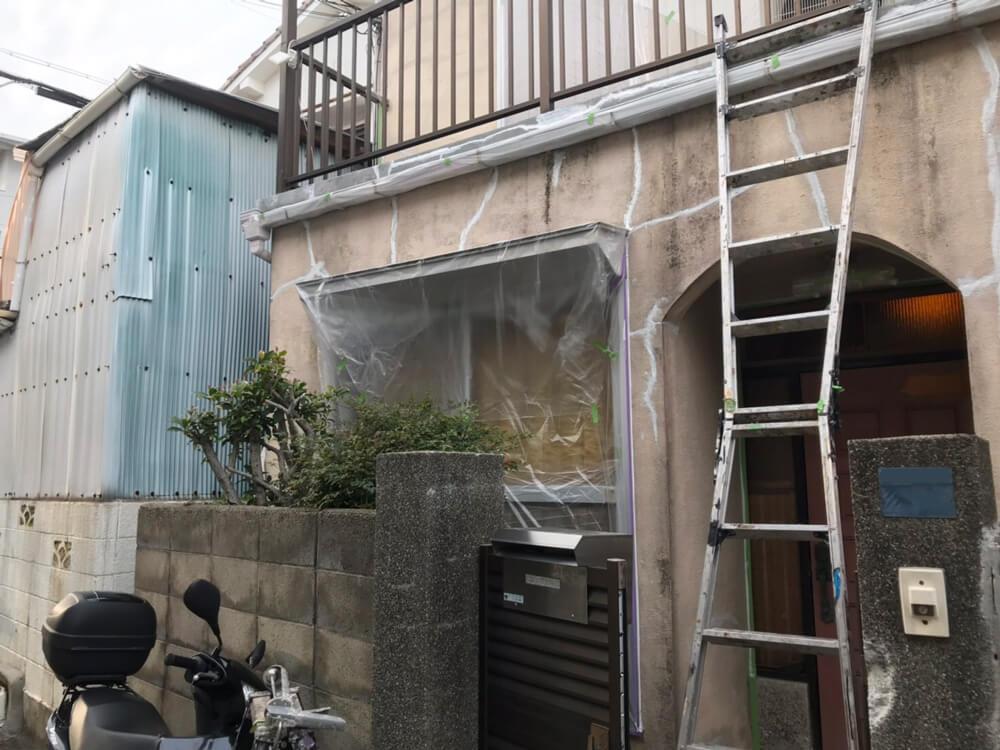 神戸市垂水区Y様邸外壁塗装 施工前