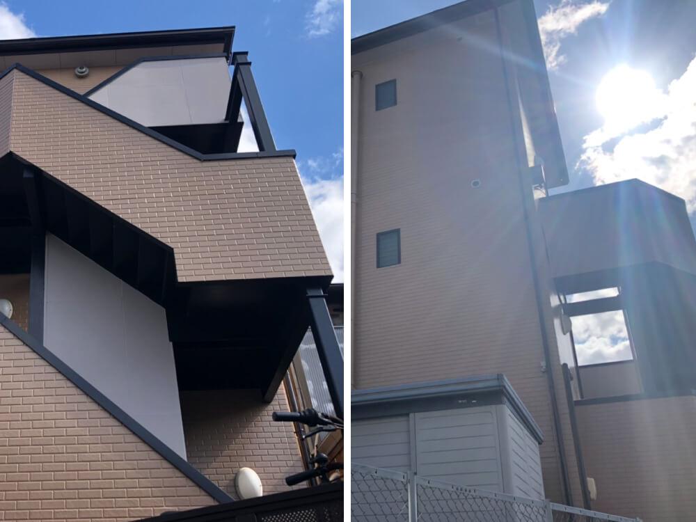 神戸市須磨区不動産会社様外壁・屋根塗装 施工後
