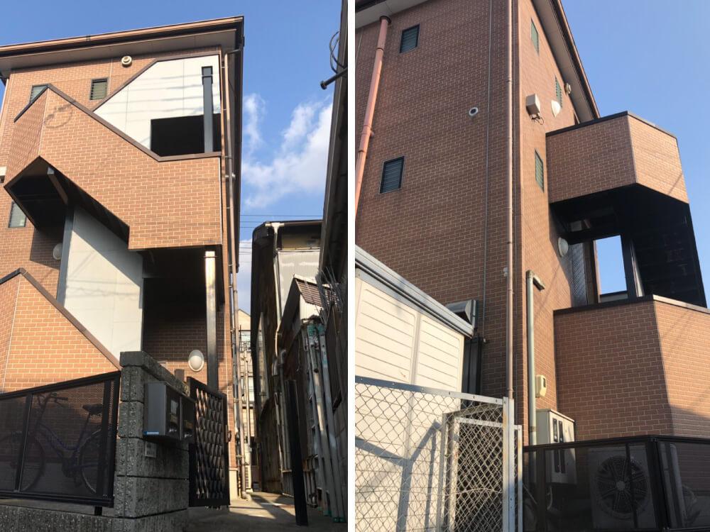 神戸市須磨区不動産会社様外壁・屋根塗装 施工前