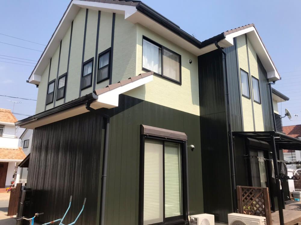 加古川市K様邸外壁塗装 施工後