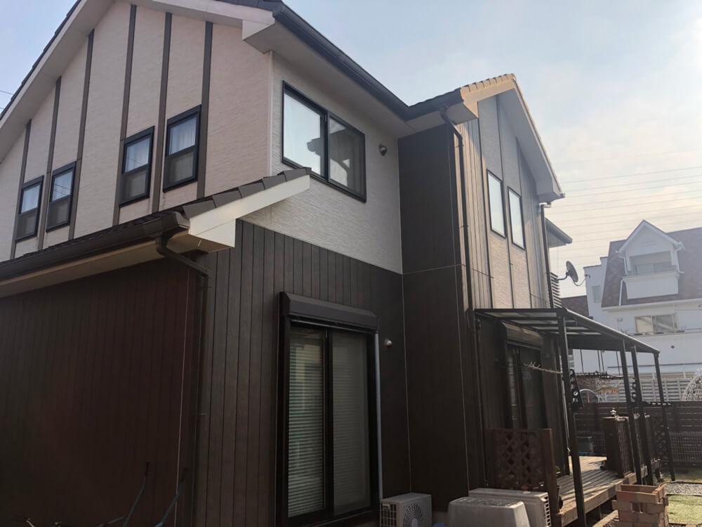 加古川市K様邸外壁塗装 施工前