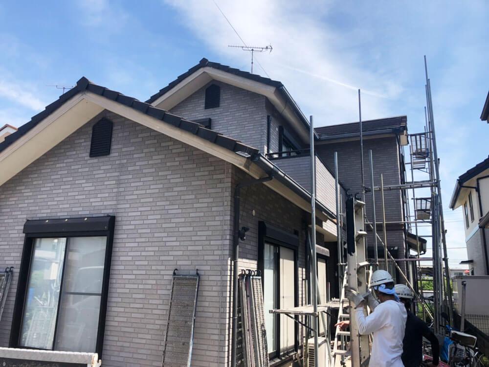 加古川市N様邸外壁塗装・屋根塗装 施工前