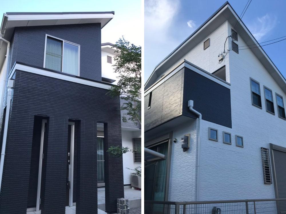 神戸市垂水区E様邸外壁塗装・屋根塗装 施工後