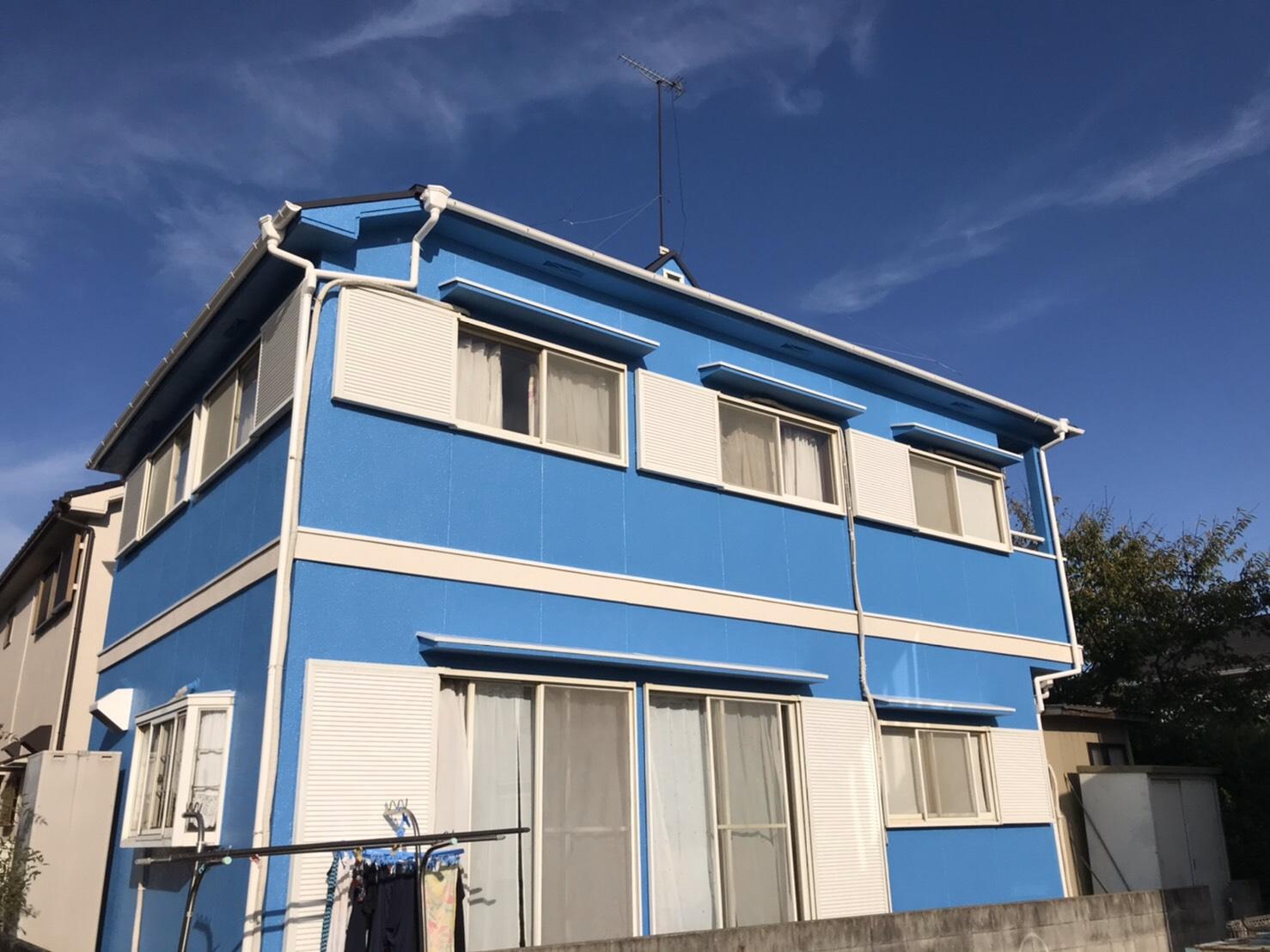 播磨町のお客様 外壁塗装工事