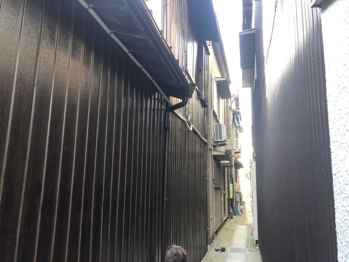 明石市H様 外壁塗装・板金貼り替え