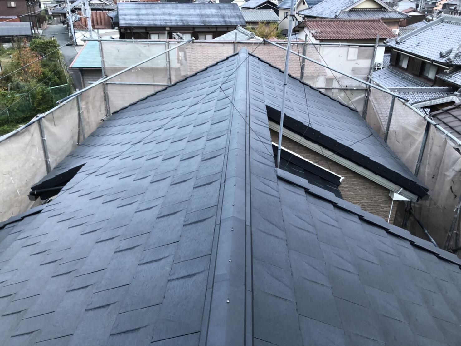 高砂市T様 屋根吹き替え工事